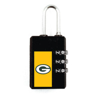 Green Bay Packers Luggage Security Lock TSA Approved