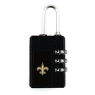 New Orleans Saints Luggage Security Lock TSA Approved