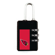 Arizona Cardinals Luggage Security Lock TSA Approved