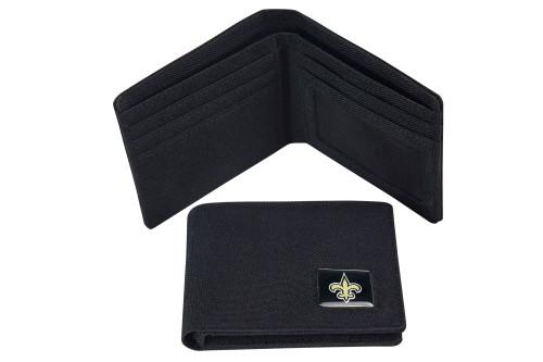New Orleans Saints Nylon RFID Travel Wallet