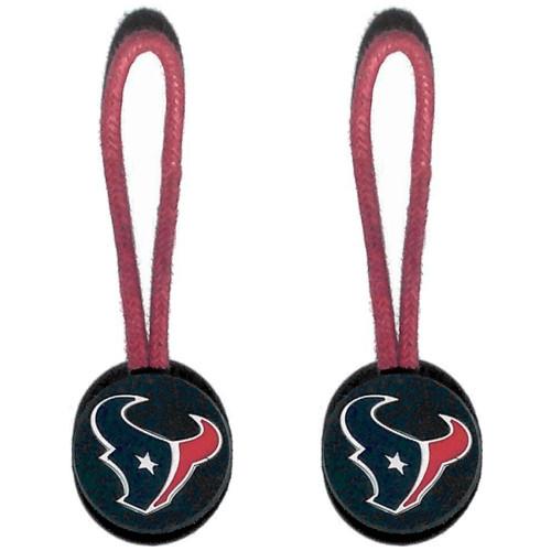 Houston Texans Zipper Pull (2-Pack)
