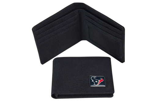 Houston Texans Nylon RFID Travel Wallet