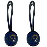 Los Angeles Rams Zipper Pull (2-Pack)