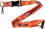 Denver Broncos Orange Lanyard