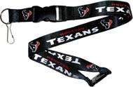 Houston Texans Lanyard Keychain