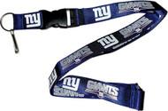 New York Giants Lanyard Keychain