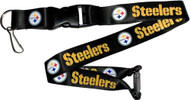 Pittsburgh Steelers Lanyard Keychain