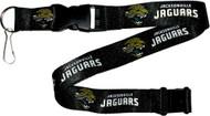 Jacksonville Jaguars Black Lanyard Keychain