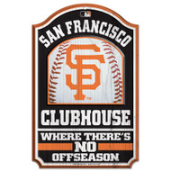 San Francisco Giants Wooden Sign