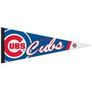 """Chicago Cubs 12""""x30"""" Premium Felt Pennant"""