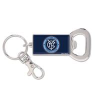 New York City FC Bottle Opener Keychain