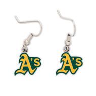 Oakland Athletics Dangle Earrings
