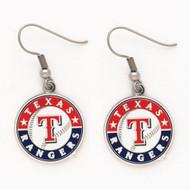 Texas Rangers Dangle Earrings MLB