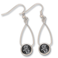 Chicago White Sox French Loop Earrings