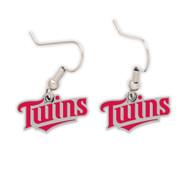 Minnesota Twins Logo Dangle Earrings