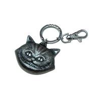 Alice in Wonderland Movie Cheshire Cat Pewter Keychain