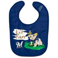 Milwaukee Brewers Lil' Fan All Pro Baby Bib