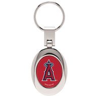 Los Angeles Angels Domed Metal Keychain
