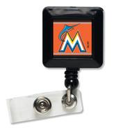 Miami Marlins Retractable Badge Holder