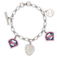 Philadelphia Phillies Charm Bracelet