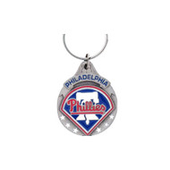Philadelphia Phillies Pewter Keychain