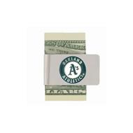 Oakland Athletics Pewter Emblem Money Clip
