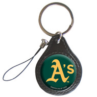 Oakland Athletics Screen Cleaner Keychain