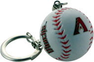 Arizona Diamondbacks Baseball Keychain