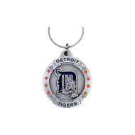 Detroit Tigers Pewter Keychain
