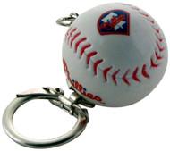 Philadelphia Phillies Baseball Keychain