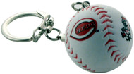 Cincinnati Reds Baseball Keychain