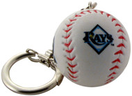 Tampa Bay Rays Baseball Keychain