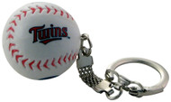 Minnesota Twins Baseball Keychain