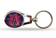 Los Angeles Angels Oval Keychain