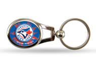 Toronto Blue Jays Oval Keychain