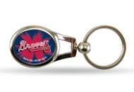Atlanta Braves Oval Keychain