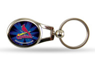 St. Louis Cardinals Oval Keychain