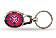 Chicago Cubs Oval Keychain