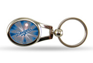 Los Angeles Dodgers Oval Keychain