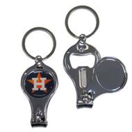 Houston Astros 3 in 1 Keychain