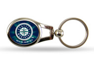 Seattle Mariners Oval Keychain