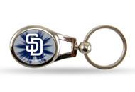 San Diego Padres Oval Keychain