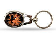 Baltimore Orioles Oval Keychain