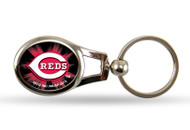 Cincinnati Reds Oval Keychain