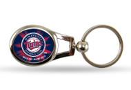 Minnesota Twins Oval Keychain