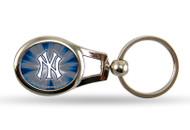 New York Yankees Oval Keychain