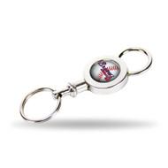 Atlanta Braves Quick Release Valet Keychain