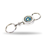 Milwaukee Brewers Quick Release Valet Keychain