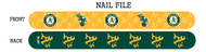 Oakland Athletics Nail File