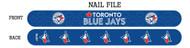 Toronto Blue Jays Nail File